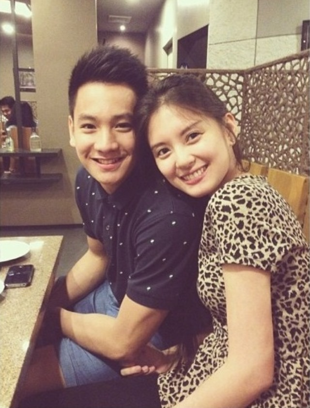 Thomas Torres and Arra San Agustin