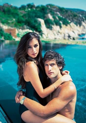 Solenn Heussaff and Nico Bolzico