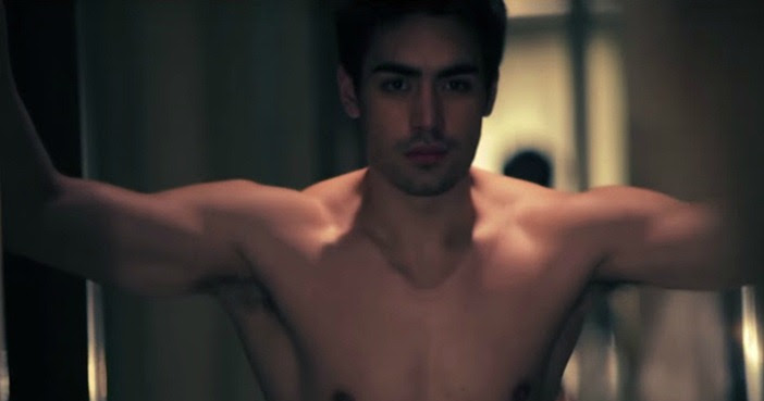 Clint Bondad in a music video